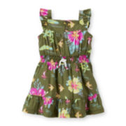 Carter's® Tropical-Print Dress – Baby Girls newborn-24m