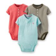 Carter's® 3-pk. Bodysuits – Baby Boys newborn-24m