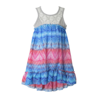 jcpenney.com | Pinky High-Low Maxi Dress - Toddler Girls 2t-4t