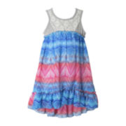 Pinky High-Low Maxi Dress - Toddler Girls 2t-4t
