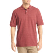 Arrow® Short-Sleeve Windowpane Polo