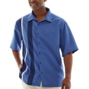 The Havanera Co.® Short-Sleeve Camp Shirt-Big & Tall