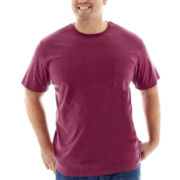 The Foundry Supply Co.™ Solid Pocket Tee-Big & Tall