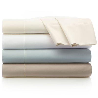 liz claiborne 600tc egyptian cotton sateen sheet set - Royal Velvet Sheets