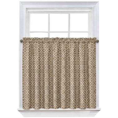 jcpenney.com | Waverly® Lovely Lattice Rod-Pocket Window Tiers