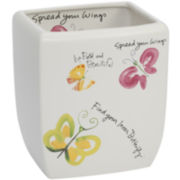 Creative Bath™ Flutterby Wastebasket