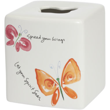 jcpenney.com | Creative Bath™ Flutterby Tissue Holder