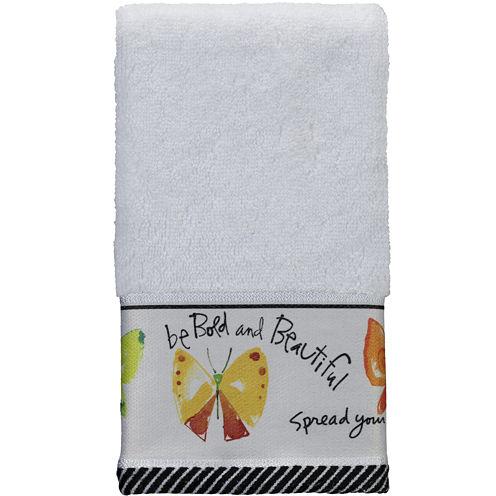 Creative Bath™ Flutterby Fingertip Towel