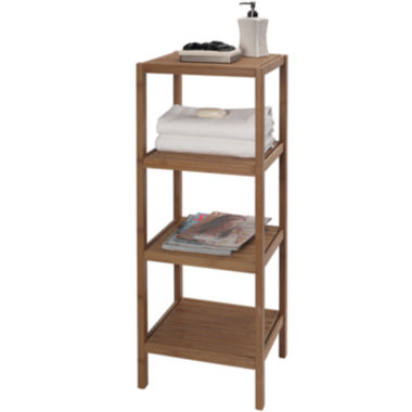 jcpenney.com | Creative Bath™ Eco Styles Bamboo 4-Shelf Tower