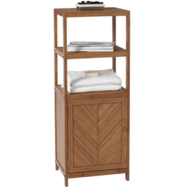 jcpenney.com | Creative Bath™ Eco Styles Bamboo 3-Shelf Tower with Cabinet