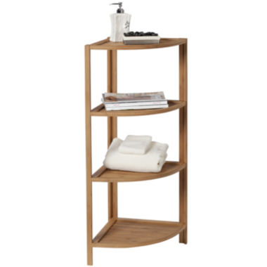 jcpenney.com | Creative Bath™ Eco Styles Bamboo 4-Shelf Corner Tower