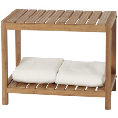 jcpenney.com | Creative Bath™ Eco Styles Bamboo Spa Bench