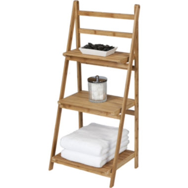 jcpenney.com | Creative Bath™ Eco Styles Bamboo 3-Shelf Folding Tower