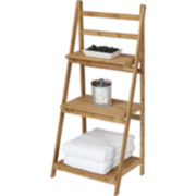 Creative Bath™ Eco Styles Bamboo 3-Shelf Folding Tower