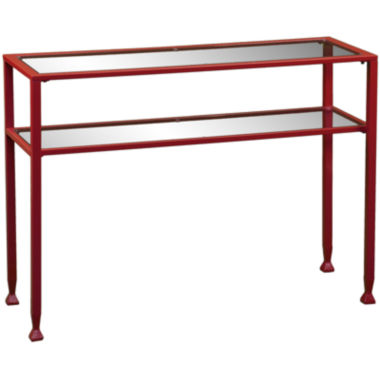 jcpenney.com | Metal and Glass Console Table