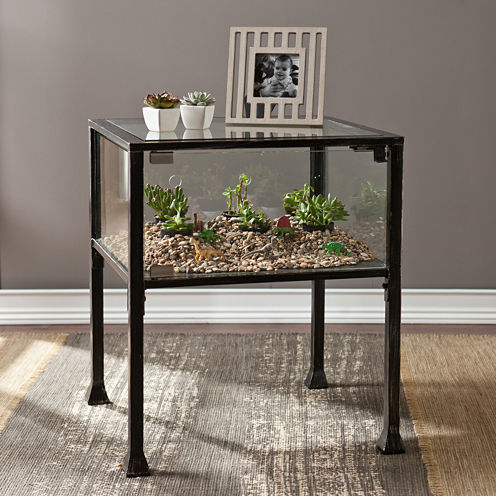 Terrarium End Table