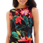 Bisou Bisou® Sleeveless Print Top