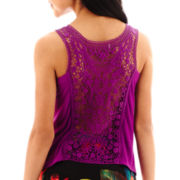 Bisou Bisou® Lace-Back Top
