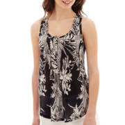 i jeans by Buffalo Scoopneck Print Tank Top