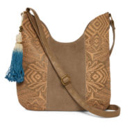 T-Shirt and Jeans™ Laser-Cut Hobo Bag