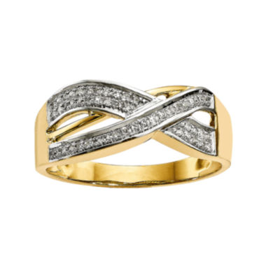 jcpenney.com | 1/7 CT. T.W. Diamond 14K Yellow Gold Ring