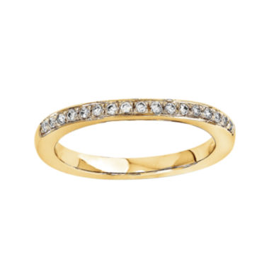 jcpenney.com | 1/5 CT. T.W. Diamond 14K Yellow Gold Wedding Band