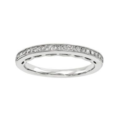 jcpenney.com | 1/10 CT. T.W. Diamond 14K White Gold Wedding Band