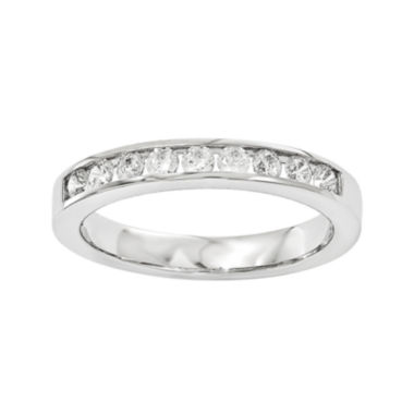 jcpenney.com | 1/3 CT. T.W. Diamond 14K White Gold Wedding Band