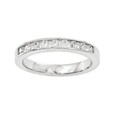 jcpenney.com | 1/2 CT. T.W. Diamond 14K White Gold Wedding Band