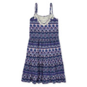 Arizona Sleeveless Peasant Dress - Girls 7-16