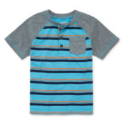 Arizona Short-Sleeve Henley Shirt - Preschool Boys 4-7