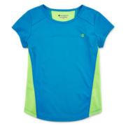Champion® Short-Sleeve Mesh Back Tee - Girls 7-16