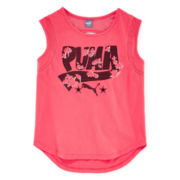 Puma® Tropical Graphic Print Tank Top - Girls
