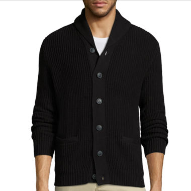 jcpenney.com | Claiborne® Long-Sleeve Shawl Collar Cardigan