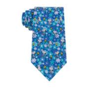 Peanuts Snoopy Floral Tie