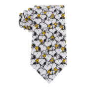 Peanuts Snoopy And Woodstock Tie