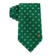 Peanuts Woven Shamrock Tie