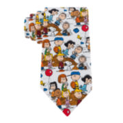 Peanuts Playing Sports Tie