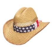 Panama Jack® Straw Cowboy Hat