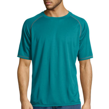jcpenney.com | Stanley® Short-Sleeve Performance Mini Birdseye Texture Tee