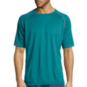 Stanley® Short-Sleeve Performance Mini Birdseye Texture Tee