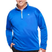 Champion® Long-Sleeve Quarter-Zip Shirt - Big & Tall