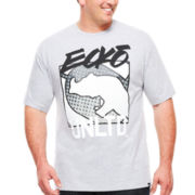 Ecko Unltd.® Short-Sleeve Uprising Graphic Tee - Big & Tall