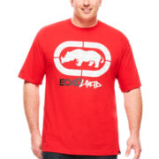 Ecko Unltd.® Short-Sleeve Solid Graphic Tee - Big & Tall