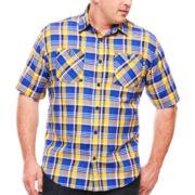 Ecko Unltd.® Short-Sleeve Pattern Woven Shirt - Big & Tall