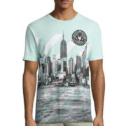 Zoo York® Short-Sleeve Striped Harbor T-Shirt