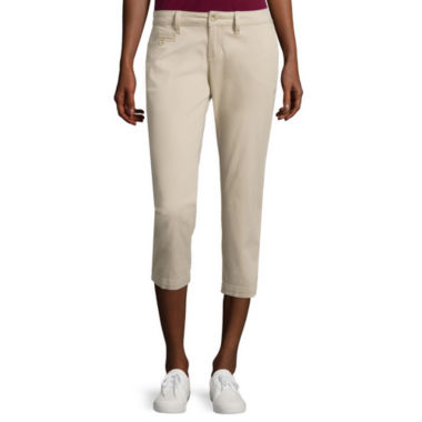 jcpenney.com | Arizona Schoolgirl Cropped Pants