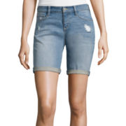 Arizona Destructed Bermuda Shorts