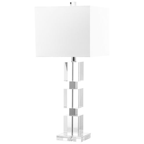 Safavieh Halcyon Crystal Cube Lamp