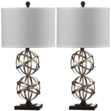 jcpenney.com | Safavieh Atlas Double-Sphere Table Lamp
